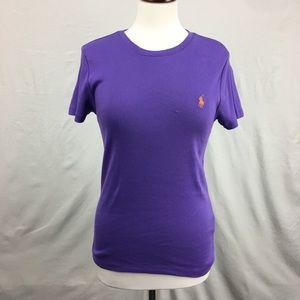 Ralph Lauren Sport Purple SS Shirt